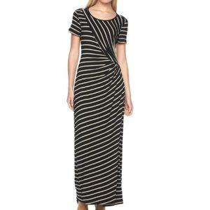 Apt 9 Ruched Maxi Dress